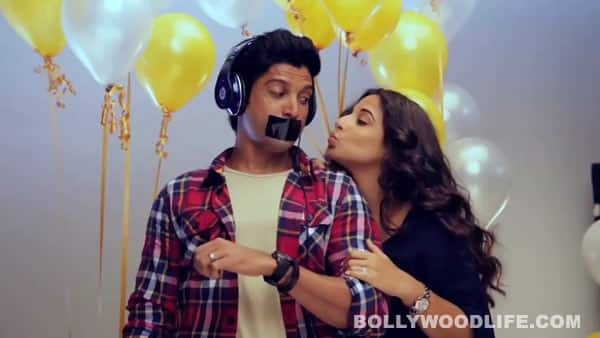 Shaadi Ke Side Effects behind the scenes: Vidya Balan reveals the side effects of Farhan Akhtar!