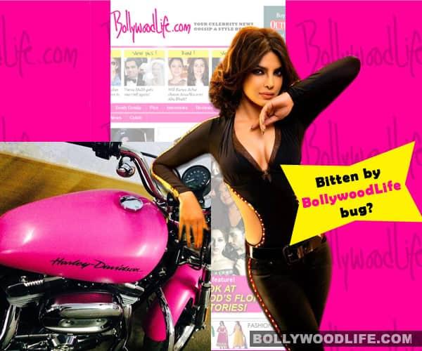 Priyanka Chopra loves BollywoodLife's pinkness!