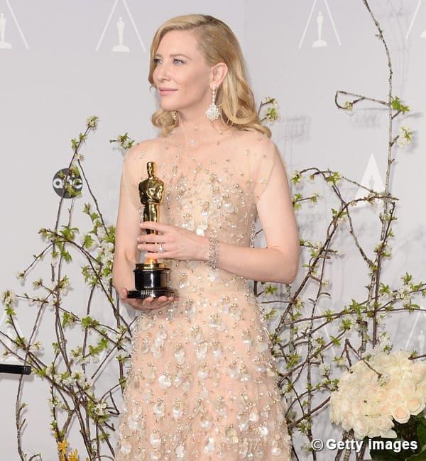 Cate Blanchett wins Best Actress award, Cate Blanchett wins Oscar