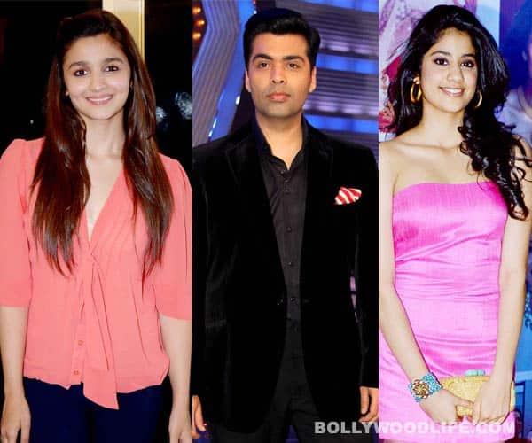 After Alia Bhatt, Karan Johar to launch Sridevi's daughter Jhanvi Kapoor!