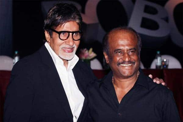 Amitabh Bachchan pokes fun at Rajinikanth