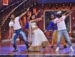 Mouni Roy dances with Terence Lewis, Remo D'Souza on Comedy Nights with Kapil's Holi special – View pics!