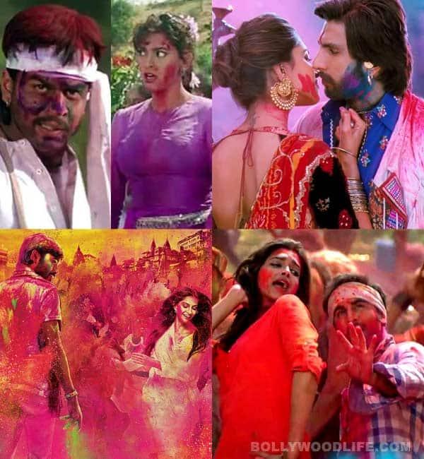 Holi special: Shahrukh Khan, Sonam Kapoor and Deepika Padukone's memorable Holi scenes onscreen!
