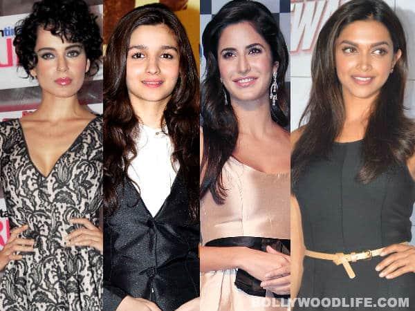 Kangana Ranaut, Alia Bhatt, Katrina Kaif, Deepika Padukone – Meet B-town's bindaas babes!