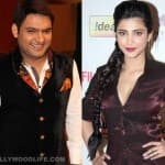 After films, Kapil Sharma to croon with Shruti Haasan