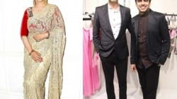 Manisha Koirala supports designer duo Shivan and Narresh's mastectomy blouse