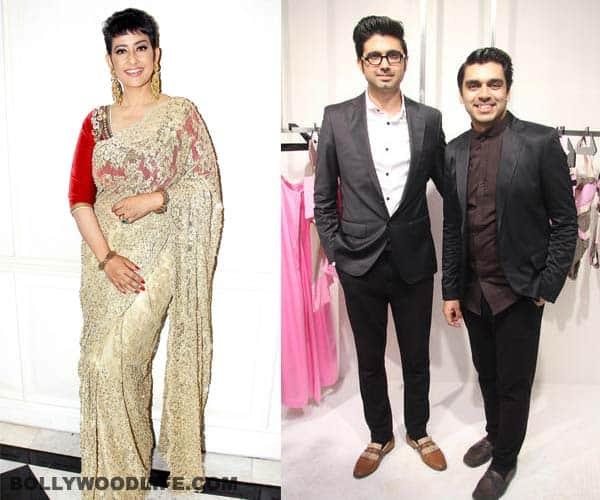 Manisha Koirala supports designer duo Shivan and Narresh's mastectomy blouse