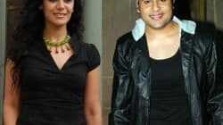 Mona Singh and Krushna Abhishek in Entertainment Ke Liye Kuch Bhi Karega