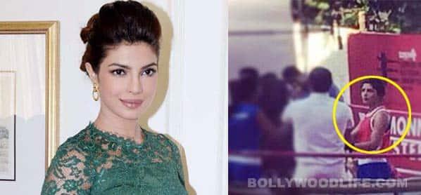 Priyanka Chopra's look in Mary Kom revealed!
