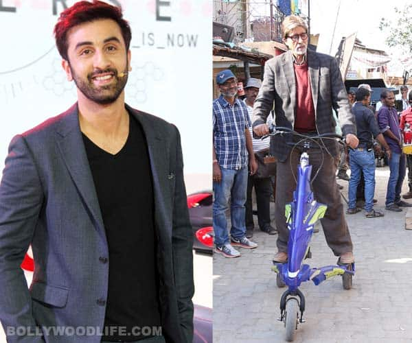 After Ranbir Kapoor, take a look at Amitabh Bachchan's cool ride!