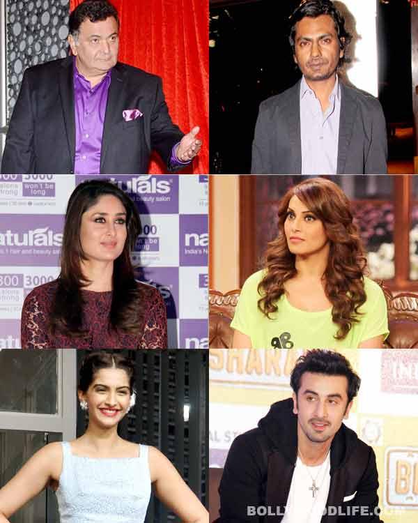 Kareena Kapoor Khan, Rishi Kapoor and Sonam Kapoor – meet Bollywood's mean brigade!