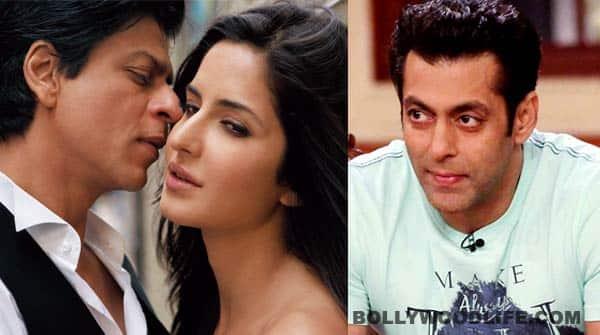 Katrina Kaif to work with Salman Khan's arch rival, Shahrukh Khan yetagain!