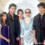 Shahrukh Khan: Missing my kids a lot today, so being a boring parent and showing their pics