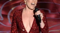 Pink pays tribute to The Wizard of Oz, Pink performs at Oscars 2014