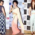 Lakme Fashion Week 2014: Kangana Ranaut, Sonakshi Sinha and Kalki Koechlin look gorgeous!