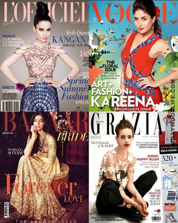 Kangana Ranaut, Sonam Kapoor or Kalki Koechlin: Who is the sexiest covergirl?