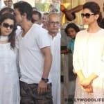 Shahrukh Khan, Deepika Padukone attend Juhi Chawla's brother Bobby Chawla's cremation - View pics!