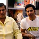 What was Varun Dhawan's most special moment with father David Dhawan?