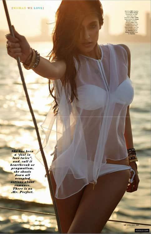 Ileana D'Cruz hot in bikini magazine saleem hot in swimsuit