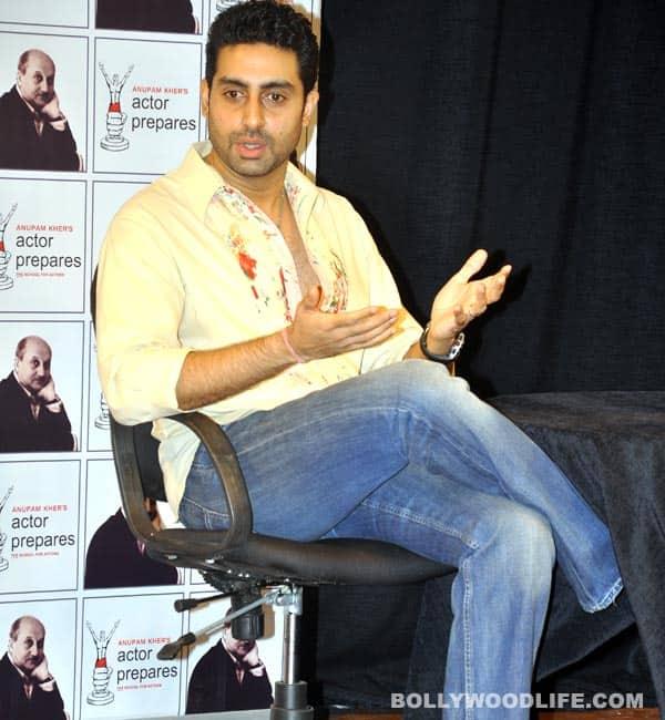 What is Abhishek Bachchan's childhood dream?
