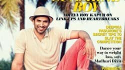 Sunshine boy Aditya Roy Kapur looks uber cool as a coverboy!