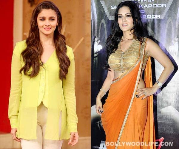 Alia Bhatt - a huge fan of sexy Sunny Leone!