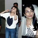 Sonakshi Sinha, Karisma Kapoor and Malaika Arora attend Arjun Kapoor and Alia Bhatt's 2 States special screening - View pics!