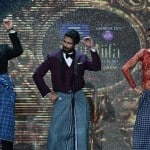 IIFA 2014: Deepika Padukone makes Kevin Spacey groove to Lungi dance - See video and pics!