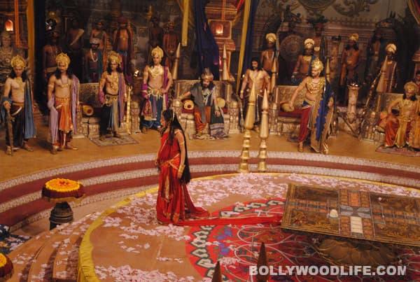 Pooja Sharma aka Draupadi makes Duryodhancry