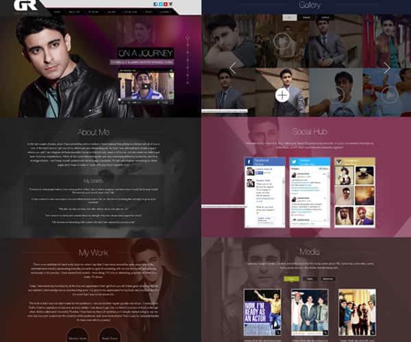 Gautam Rode launches his website!