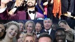 IIFA 2014: Shahid Kapoor apes Ellen DeGeneres' Oscar selfie moment!