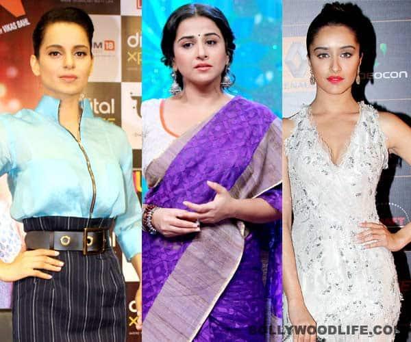 After Kangana Ranaut, has Shraddha Kapoor replaced Vidya Balan in a film?