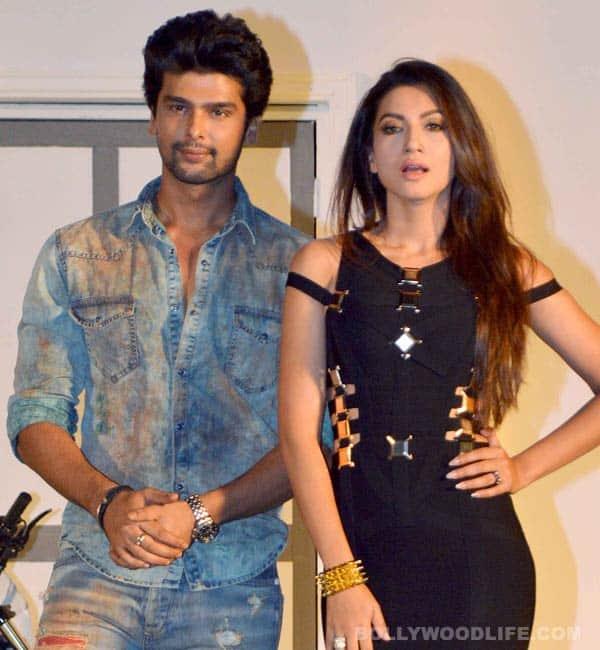 Kushal Tandon and Gauhar Khan romance in Dubai