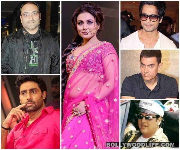 Aditya Chopra, Abhishek Bachchan, Govinda – A look at Rani Mukerji's love life!