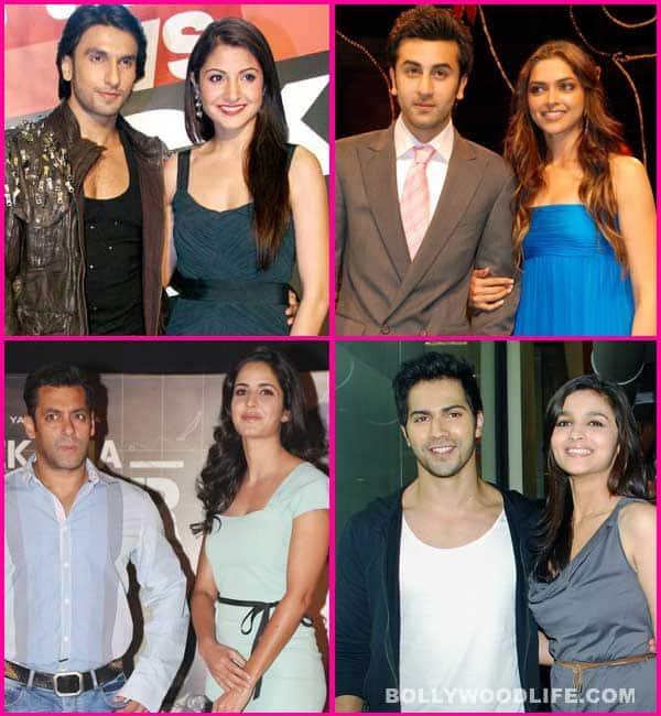 Salman Khan-Katrina Kaif , Ranbir Kapoor – Deepika Padukone, Ranveer Singh –Anushka Sharma back together!