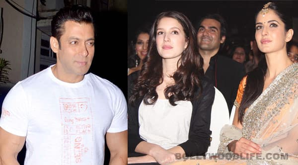 Is Salman Khan launching Katrina Kaif's sister Isabelle's Bollywood career?