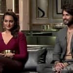 Is Sonakshi Sinha unhappy about her link-up with Shahid Kapoor?