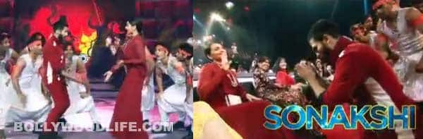 Shahid Kapoor and Sonakshi Sinha's dhatting naach on Femina Miss India 2014 stage – watch video!