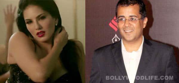 Sunny Leone, not Alia Bhatt a stressbuster for 2 States author Chetan Bhagat