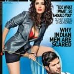 Sunny Leone strikes a sexy pose as a bondage babe!