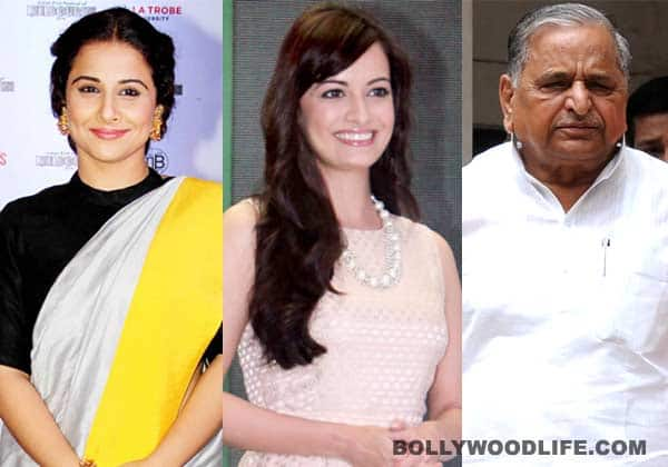 Vidya Balan and Dia Mirza miffed with Mulayam Singh Yadav's comments on rape!
