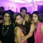 Simbu and Nayantara seen cozying up at Trisha's birthday party
