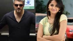 Is Ajith and Anushka Shetty's next film titled Sathya?