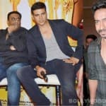 Why did the makers of Its Entertainment choose Akshay Kumar over Ajay Devgn?