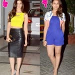 Fashion face-off: Alia Bhatt vs Parineeti Chopra at Karan Johar's birthday
