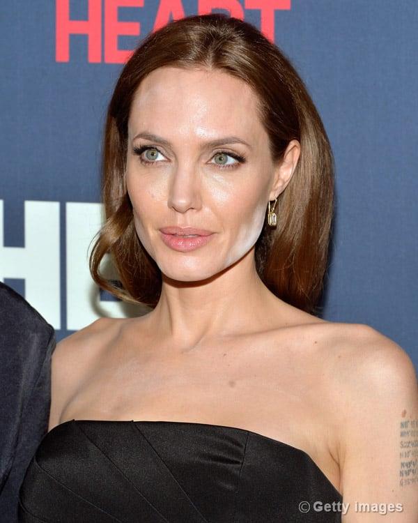 Angelina Jolie's make-up mishap!