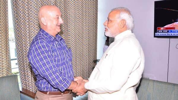 When Anupam Kher met Narendra Modi...