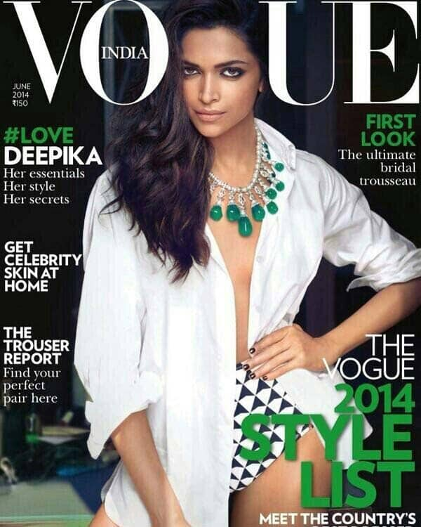 Is Deepika Padukone the best covergirl?