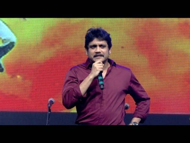 Nagarjuna breaks down in ANR's remembrance at Manam celebration party!