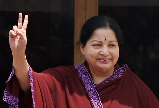 Election results 2014: Jayalalitha wave dampens Narendra Modi's spirit in Tamil Nadu!